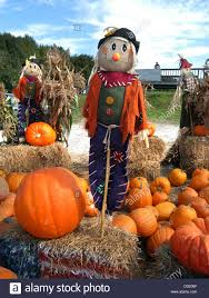 New Milford Pumpkin Festival Ct by Halloween Mannequin Dressed As A Sheriff Below Fall Or Autumn Leaf