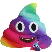 Amazoncom Wemi Emoji Plush Toys Cartoon Cushion 14 Inches Poop