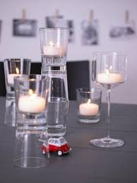 teelichter als tischdeko bild 6 living at home