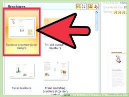 Brochure Templates Word Ms Maker Microsoft Justnoco