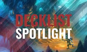 hearthstone news decklist spotlight 13 decks from the first day