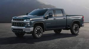 2020 Chevrolet Silverado HD Teased With First Images And Diesel ...
