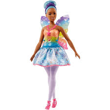 Barbie Fairy Doll Blue Hair The Entertainer
