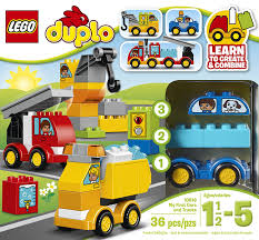 100 Toy Cars And Trucks My First And By LEGO DUPLO Santas House