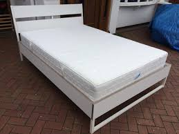 ikea trysil double bed with mattress immaculate condition