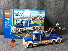 100 Lego City Tow Truck LEGO 60056 Includes Box And Mini Figure Appears