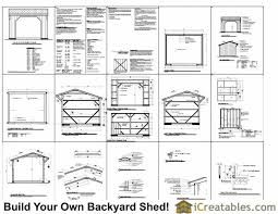 12x12 Storage Shed Plans Free by 12x12 Run In Shed Plans Amish Horse Barn Plans Horse Run In