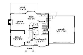Colonial House Plans Ellsworth 30 222 Associated Designs