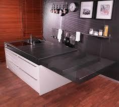 plan de travail escamotable cuisine table de cuisine escamotable table rabattable cuisine