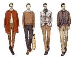 Fashion Illustrator Mengjie Di Stylesight Menswear Drawings