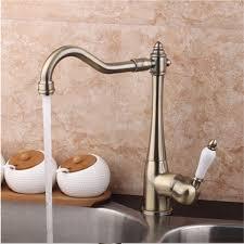 tempsa rétro robinet mitigeur cascade lavabo evier chromé fontaine