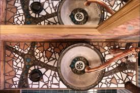 mosaik waschtisch und waschbecken selber machen silkeramik