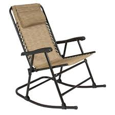 Outdoor Recliner Chair Walmart by 65 Folding Rocking Chair Foldable Rocker Outdoor Patio Furniture