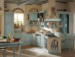 Inspiration Idea Blue Country Kitchen Decor Ideas