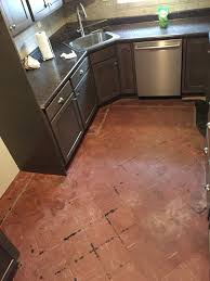 Covering Asbestos Floor Tiles With Hardwood by Best 25 Asbestos Tile Ideas On Pinterest Concrete Basement