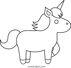 Realistic Unicorn Coloring Pages Printable Simple For Toddlers Head And Eas