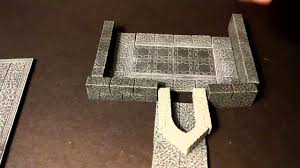 ideas for dungeon walls and how to build them with hirst arts