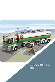 100 Lego City Tanker Truck LEGO Tank 3180 S City S