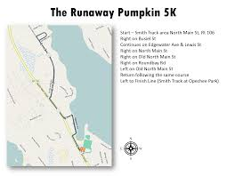 Nh Pumpkin Festival 2016 by Course Maps The Runaway Pumpkin 10k U0026 5k Run Walk