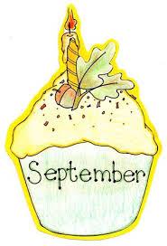 September Birthday Cupcake
