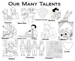 Coloring Sheets The O39jays And Diligence On Pinterest For Parable Of Talents Page To