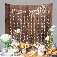 Rustic Wedding Decorations Engagement Decor
