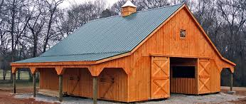 Shed Row Barns Texas by Horse Barns Prefabricated Barns Horizon Structures