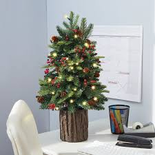 Slim Christmas Trees Prelit by Decorating Wonderful Tabletop Christmas Tree For Chic Christmas
