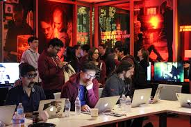 Netflix Staff In The War Room Ready For Launch Of Second Season Original