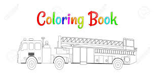 Fire Truck Coloring Book Vector. Coloring Pages For Kids Vector ... Easy Fire Truck Coloring Pages Printable Kids Colouring Pages Fire Truck Coloring Page Illustration Royalty Free Cliparts Vectors Getcoloringpagescom Tested Firetruck To Print Page Only Toy For Kids Transportation Fireman In The Letter F Is New On Books With Glitter Learn Colors Jolly At Getcoloringscom