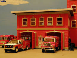 Fire Station Roll-out: 1/87 Diorama | Matchbox Ford F-350 Mi… | Flickr Boley 2601 Ho Scale Fire Station Trainz 187 Diecast Intertional 4300 Single Axle Flatbed Truck Hemtt M977 Cargo Truck 2120 Sand Boley A Photo On Flickriver 2009 Sterling And Gmc Fire Trucks Buy Toy Tractor 3 Pack Expand Your Toy Car And Truck Lighted Fire Youtube Monster Pullback Trucks Mini 12 Frictionpowered Pull Us Forest Service Crew 4900 2axle Cab Green Nassau Hobby Center Trains Models Gundam Rc Cars Colors Bright Toys Amazoncom Friction