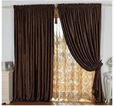 Modern Curtains For Living Room 2015 by Online Shop Home Design Modern Blackout Curtain Thick Chenille