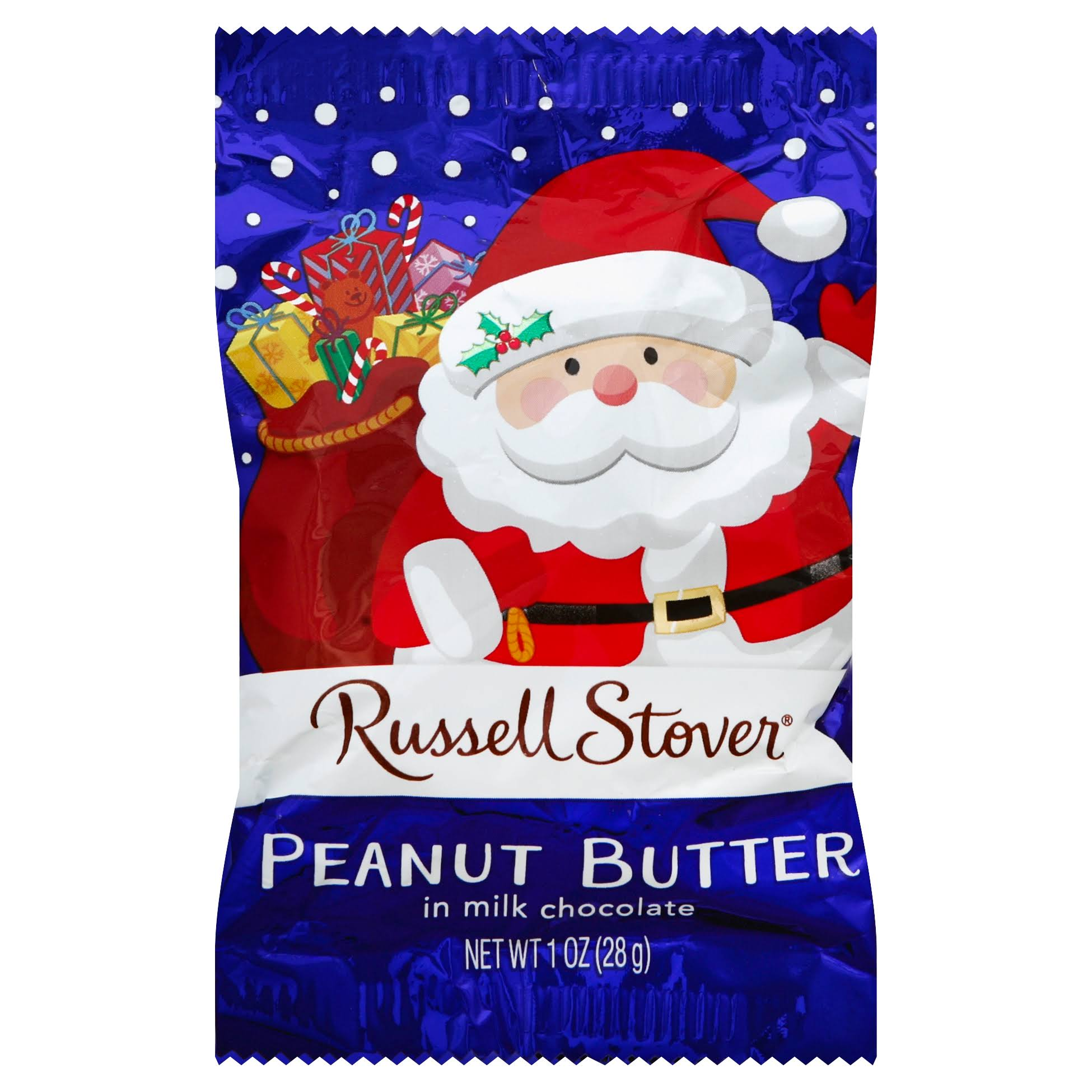 Russell Stover Peanut Butter, in Milk Chocolate - 1 oz