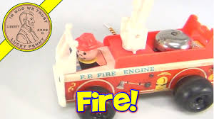 Vintage 1968 Fisher-Price F.P. Fire Engine Pull-Along Toy # 720 ... Blaze And The Monster Machines Transforming Fire Truck Samko Vintage 1968 Fisherprice Fp Engine Pullalong Toy 720 2017 Mattel Fisher Little People Helping Others Ebay Roller Blocks Walmartcom Price Dalmatian Dog Lights Original Wooden White Tracys Toys Some Other Stuff Trucks Looky Fmn98 You The Station Complete With Car 500 In Nickelodeon Bourne Lincolnshire Gumtree