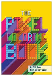 Its A Trip Down Memory Lane With The Knock 8 Bit Art Pixel Coloring Book Weve Linked To Shop On EBay For But It Also Available