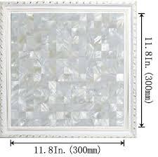 wholesale seamless mesh mounted of pearl tile backsplash