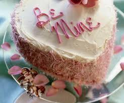 romantische herz torte