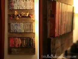 wood dvd rack foter