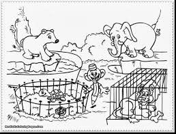 Excellent Zoo Animal Coloring Pages With Baby Animals And Farm