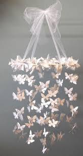 DIY Mobile Swarming Butterfly Chandelier