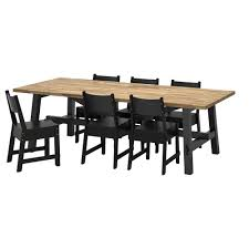 Ikea Kitchen Table And Chairs by 6 Seater Dining Table U0026 Chairs Ikea