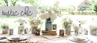 Lovely Rustic Decor For Sale Marvelous Country Wedding Decorations In Vintage Table