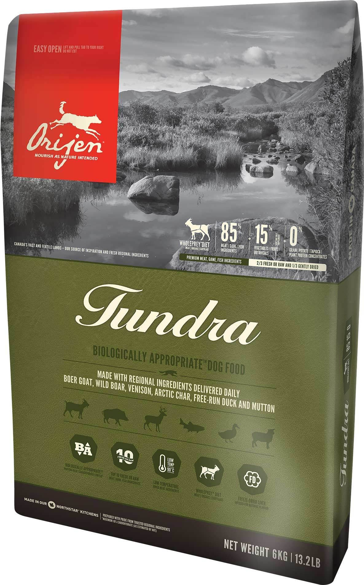 ORIJEN Tundra Dry Dog Food - 25-lb