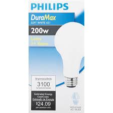 philips duramax medium a21 incandescent light bulb 168674