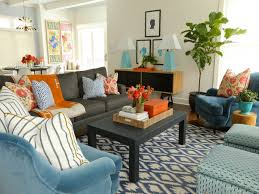Teal Living Room Decorations by Teal And Orange Living Room Best Ideas About Bright 2017 Pictures
