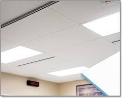 Vinyl Covered Sheetrock Ceiling Tiles by Heavyweight Cleanroom Ceiling Tiles System With Sealed Edges