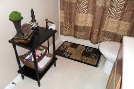 Cheetah Bathroom Rug Set by Bathroom Accessories At Ross Interior Design