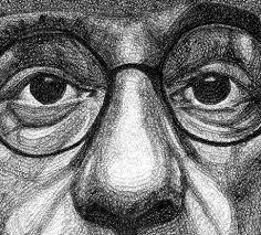 Jacob Everetts Pen Portraits Artwork