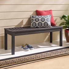 better homes and gardens delahey backless outdoor garden bench