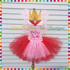 Peppa Pig Pumpkin Carving by Inspired Deluxe Peppa Pig Tutu Costume Peppa Pig Dress